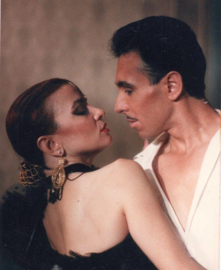 Enio with Toni Allesandrini